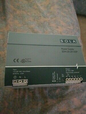 SOLA Power Supply SDN 20 24 100P