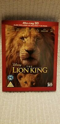 The Lion King (UK Region-Free Blu-ray, 2019) *** 3D DISC REMOVED ***