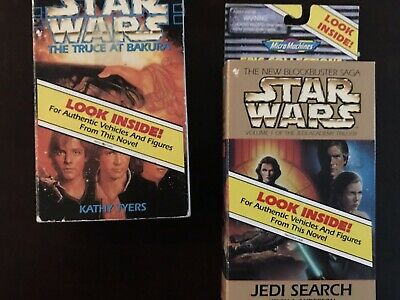 Star Wars Micro Machines Expanded Universe Truce at Bakura and Jedi Search