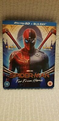 Spider-Man: Far From Home (UK Region-Free Blu-ray, 2019) *** 3D DISC REMOVED ***