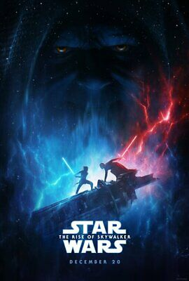 """STAR WARS THE RISE OF SKYWALKER 2019 Version B DS 2 Sided 27x40"""" US Movie Poster"""