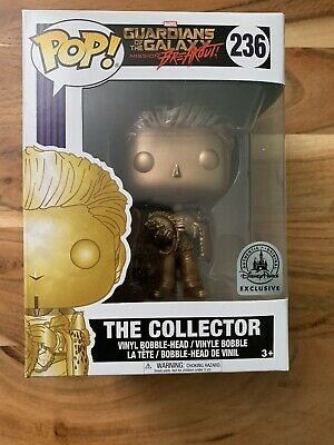 Guardians of The Galaxy THE COLLECTOR Disney Parks Exclusive Funko Pop Toy MINT