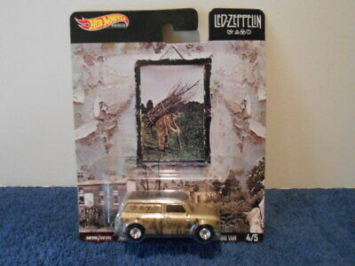 Hot Wheels 2019 Pop Culture, Led Zeppelin, '67 Austin Mini Van. #4/5