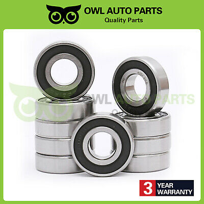 Qty.50 6000-2RS rubber seal bearing 6000 rs bearings 10x26x8 mm 6000-rs