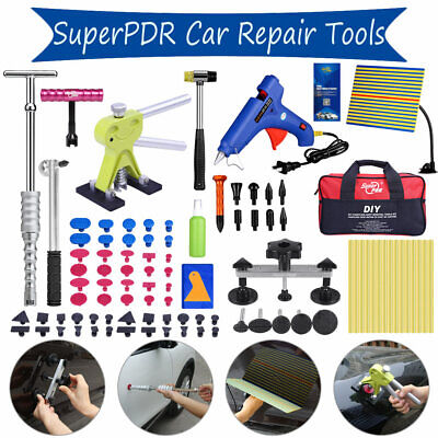 AU PDR Tool Dent Puller Lifter Car Body Paintless Hail Damage Removal Repair Kit