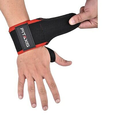 Wrist Wraps Crossfit Workout Exercise For Gym  Dumbbell Curling Bench Press