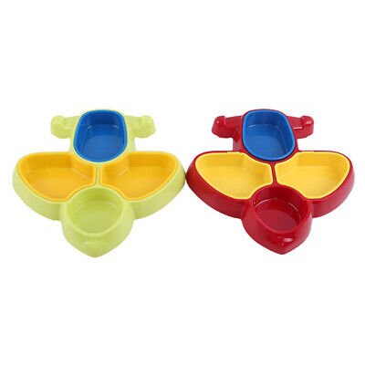 Plate Airplane Food Fun Toy Dinner ABS Food Grade Parts  Supplies CB