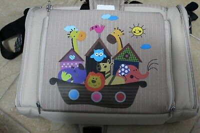 childrens travel booster seat for chair. safety harness. fits to dining chair.