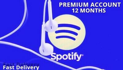 🔥Spotify Premium Account 🔥1 YEAR / 12 Months 🔥Fast Delivery🔥