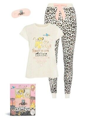 2019 BNWT Disney The Lion King Gift Box Pyjama Set For Ladies From Primark