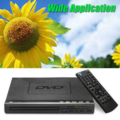 DVD Player Compact Multi Region ADH CD SVCD VCD Disc Upscaling USB &Easy set up