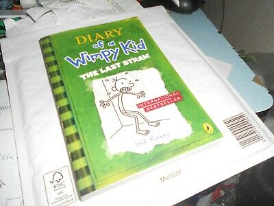 Diary of a  wimpy kid The last straw by Jeff Kinney PAPERBACK