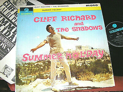 CLIFF RICHARD / THE SHADOWS -    Summer Holiday,    ORIG 1963 UK MONO LP / inner