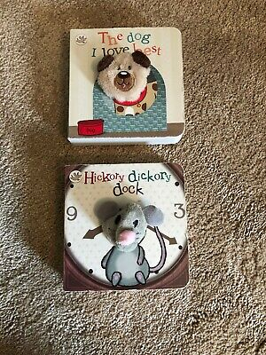 Little Learners Finger Puppet Books