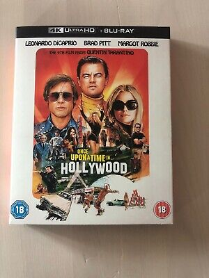 Once Upon a Time In... Hollywood (4K Ultra HD + Blu-ray)
