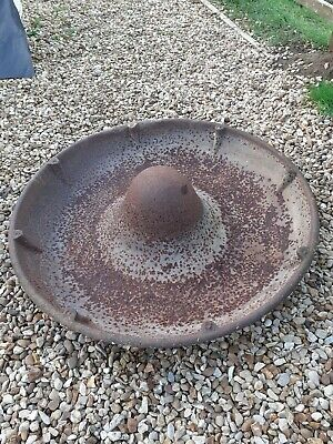 Large Cast Iron Mexican Hat Pig Trough Ideal Garden Planter
