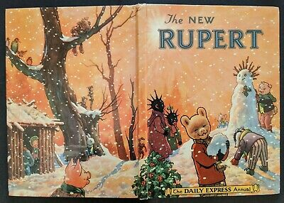 Rupert Annual 1954...Original....not Inscribed Or Clipped....p/Contest Untouched