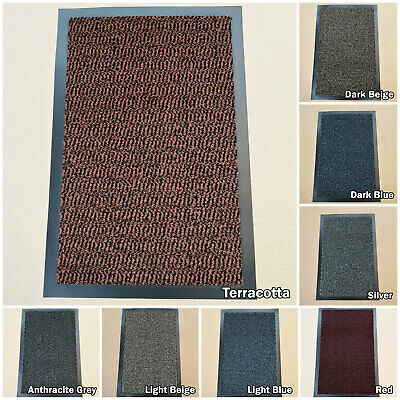 Heavy Duty Large Small Rugs Door Multi Hall Kitchen Non Slip Rubber Barrier Mat
