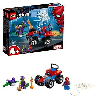LEGO 76133 Super Heroes Spider-Man Car Chase, Kids Children Toddlers Gift - UK