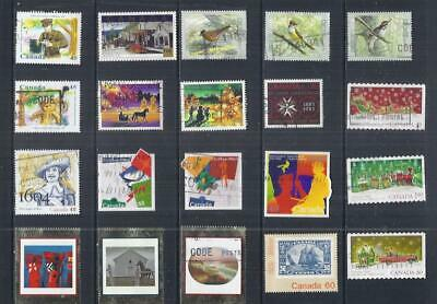 B483 Canada /  A Small Collection Early & Modern Used