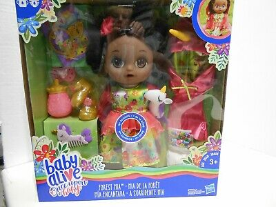 Baby Alive,  Once Upon a Baby, Forest Mia, Black Hair, New