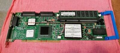 44TXF DELL PERC2/DC Dual Channel RAID Card with 128 Mb Memory and battery