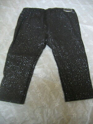 """18"""" American Girl Doll Clothes BLACK SPARKLE LEGGINGS Lux NEW Mix n Match"""