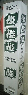 TicTac Tic Tac Retro Vending Machine Vintage Candy Wall Type - ideal gift!