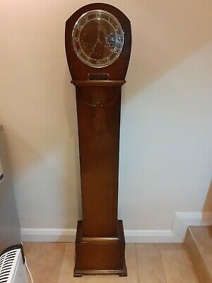 Vintage Enfield full quarter grandmother Westminster chime clock