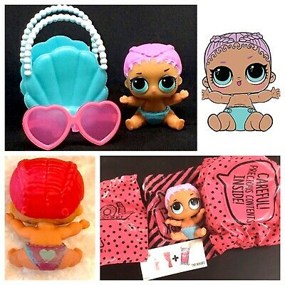 LOL Surprise Lil Merbaby Series2 Ball Little Sister Mermaid Doll FACTORY SEALED