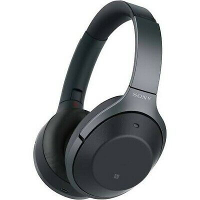 Sony WH-1000XM2 BLACK Wireless Bluetooth Noise Cancelling Over Ear Headphones