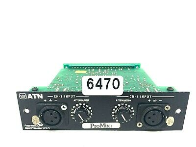 Crown P.i.p. Atn Programmable Input Processor Card #6470 (One)