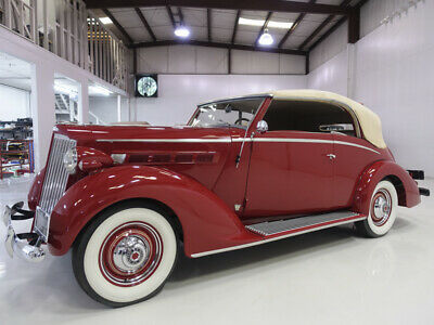 1937 Packard Model 115-C Coachbuilt Cabriolet by Graber 1937 Packard 115-C Coachbuilt Cabriolet by Graber | One of a few known to exist