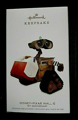 2018 Hallmark Disney Pixar Wall-E 10th Anniversary Ornament