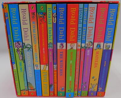 ROALD DAHL Phizz-Whizzing Collection (Illustrated) -14 Book Box Set - 2010 - K13