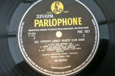 The Beatles 1967 Uk Sgt Peppers Lonely Hearts Club Band No Day In A Life Error