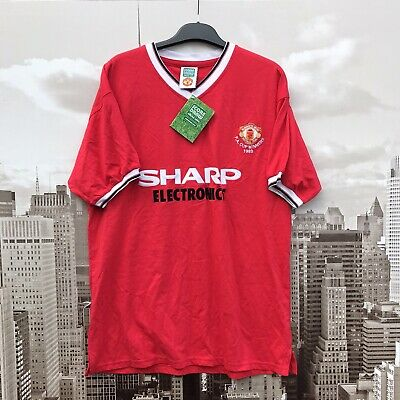 BNWT Score Draw Manchester United Home shirt from 1983.