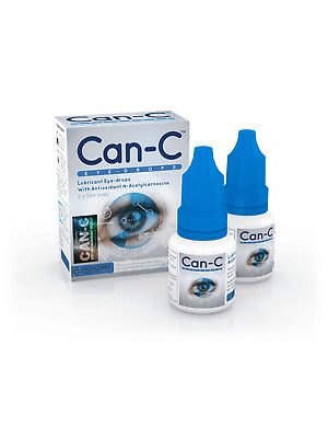 Can-C Lubricant Eye Drops For Cataract, N-Acetylcarnosine 2 X 5 ml *Exp 10/2020