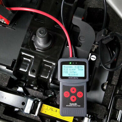Car Battery Tester Auto Conductance MotorcycleVehicle Truck Battery  Analyzer
