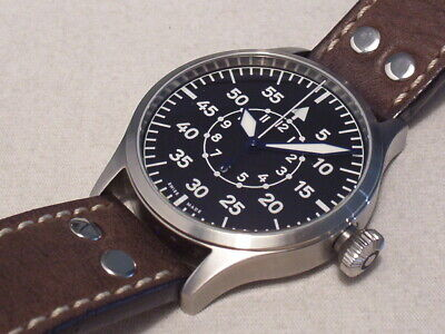 Steinhart Nav.b-Uhr 44 Aviator Automatic, Swiss Made, Eta 2824-2, Boxes/Papers