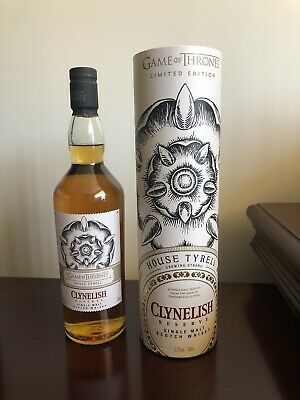 Game of Thrones House Tyrell Clynelish Reserve 700ml Limited Edition Scotch