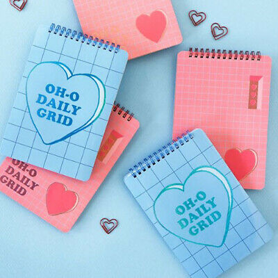 Plan B Square Notebook Mini Spring Planner Diary Memo Study Drawing Idea Book