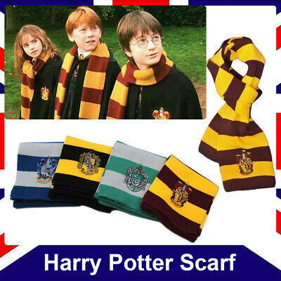 Harry Potter Scarf Ravenclaw / Gryffindor / Slytherin / Hufflepuff Gifts Cosplay