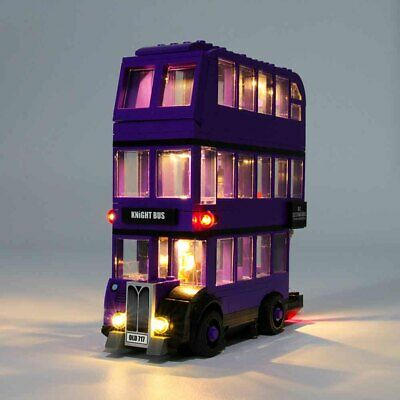 LED Light Up Kit For LEGO 75957 The Knight Bus Lighting Set Building Kit Bus HOT