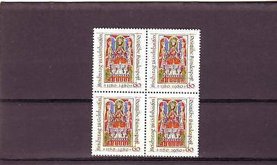 Germany/West - Sg1923 Mnh 1980 Frederick I With His Sons - Block Of 4