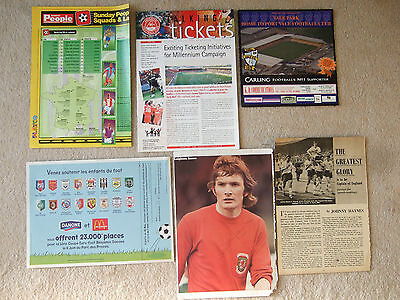advertisement tray mat  french youth tournament c1997 or 1998 inc arsenal celtic