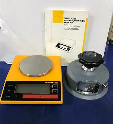 Sartorius Pt120 Analytical Laboratory Balance Scales And Sample Cutter