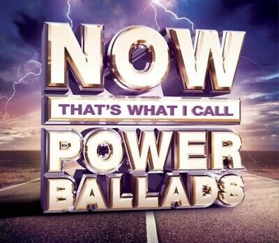 Now That's What I Call Power Ballads CD Queen Phil Collins Cher New Sealed