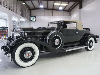 1932 Packard Deluxe Eight Roadster Coupe | 70+ years of family ownership Antique 1932 Packard Special Eight Roadster, 46,076 actual miles, 3 owners