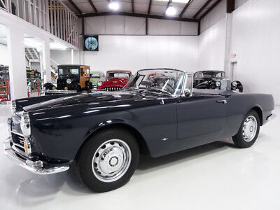 1963 Alfa Romeo 2600 Spider by Touring | Complete engine top end rebuild Rare 1963 Alfa Romeo 2600 Spider by Touring, Collector owned, DCOE carbs